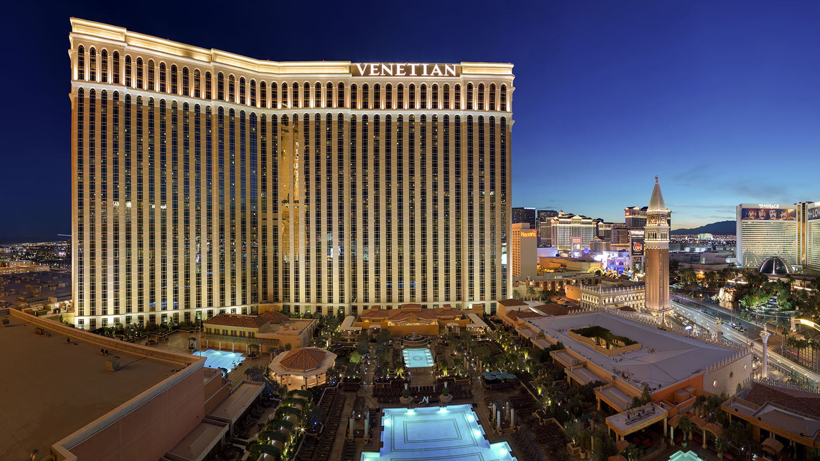 Showing The Venetian Resort and Casino feature image