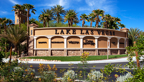 Entrance to Lake Las Vegas