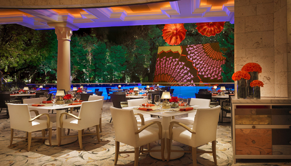 Showing slide 2 of 13 in image gallery for Wynn Las Vegas