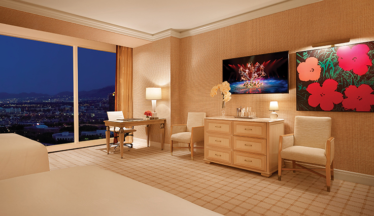 Showing slide 2 of 2 in image gallery showcasing Wynn Panoramic View Double