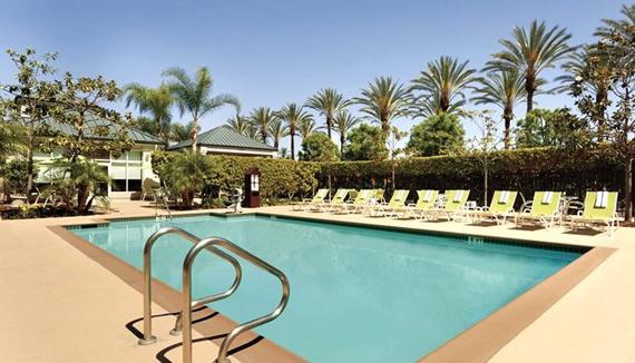 Hilton garden inn anaheim garden grove westjet for Garden grove pool service