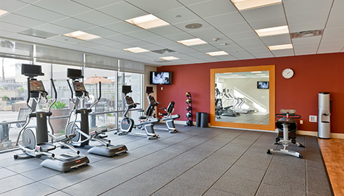 Showing slide 3 of 11 in image gallery, Fitness Center