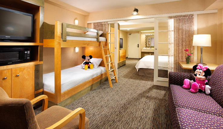 Showing slide 1 of 3 in image gallery, Kids Suite bunk beds