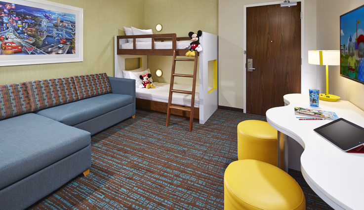 Showing slide 3 of 3 in image gallery showcasing Kid's Suite