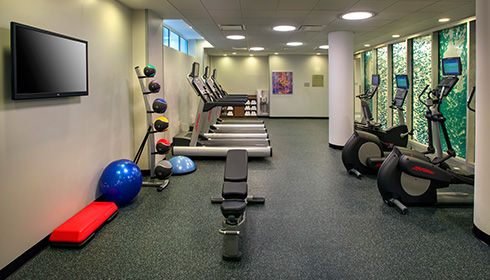 Showing slide 5 of 6 in image gallery, Fitness centre