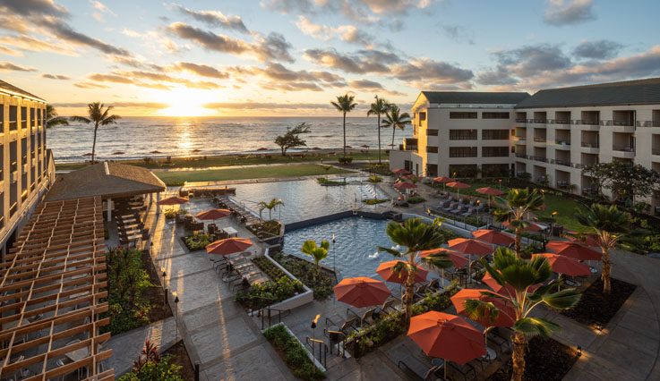 Showing Courtyard by Marriott Kauai Coconut Beach feature image
