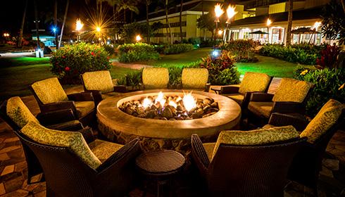Naupaka Terrace Restaurant Kauai Beach Resort