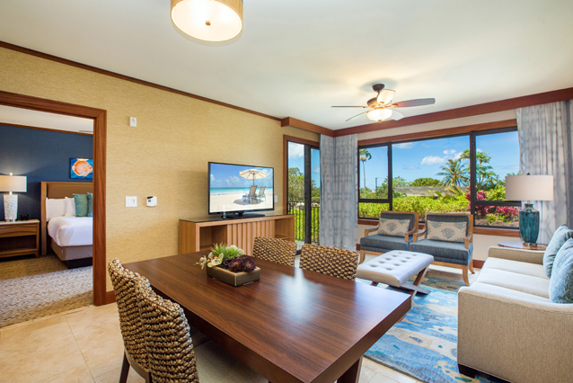 Showing slide 2 of 6 in image gallery showcasing Deluxe Island View One Bedroom Villa