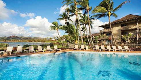Showing slide 1 of 7 in image gallery for Lae Nani Resort Kauai by Outrigger Condo