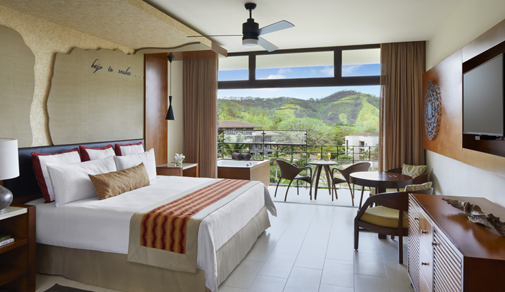 Showing slide 1 of 3 in image gallery, Junior Suite Tropical View - King