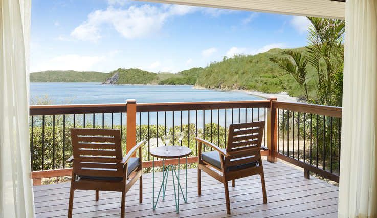 Showing slide 3 of 3 in image gallery, Preferred Club Bungalow Suite Ocean View - Balcony