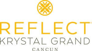 Reflect Krystal Grand Cancun logo