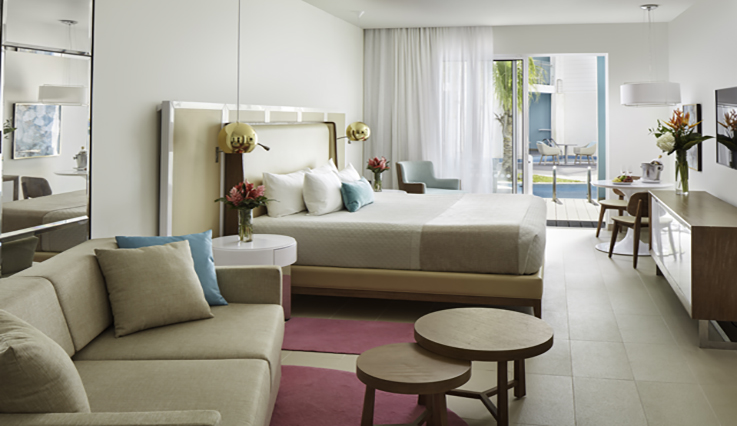Image showcasing Premium Ocean View Swim Up Suite