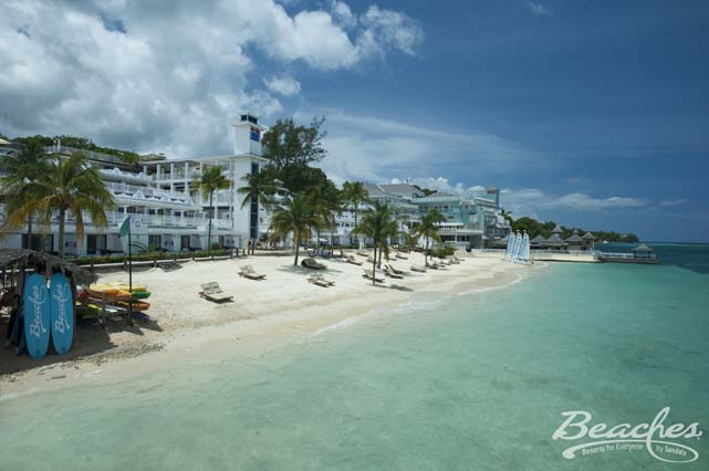 Showing slide 1 of 16 in image gallery for Beaches Ocho Rios - A Spa, Golf & Waterpark Resort