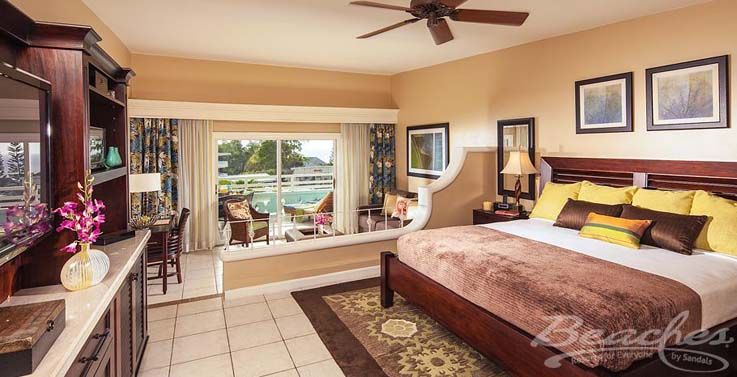 Image showcasing Caribbean Honeymoon Oceanview Concierge Veranda Suite (HOVD/HOVK)
