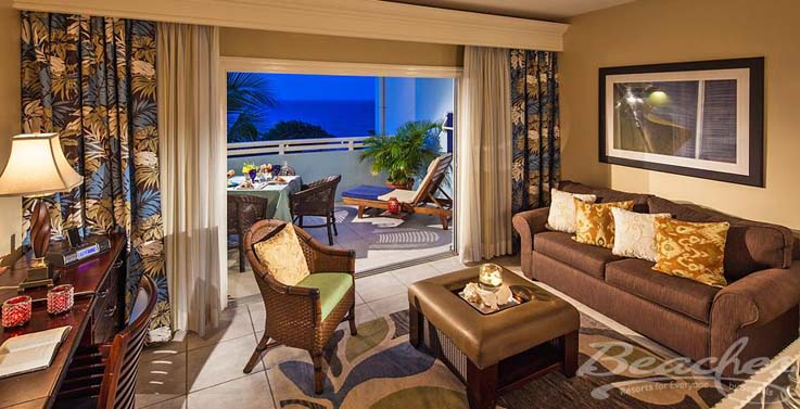 Image showcasing Caribbean Oceanview Luxury Veranda Suite (LOVD/LOVK)