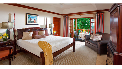 Image showcasing Negril Honeymoon Beachfront Grande Luxe Concierge Room (HB)