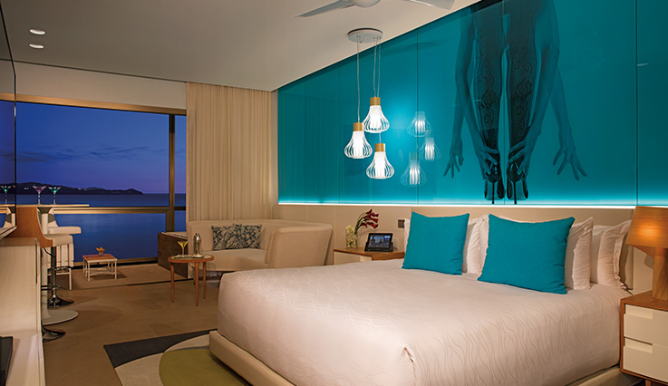 Showing slide 2 of 4 in image gallery showcasing Allure Junior Suite Ocean View