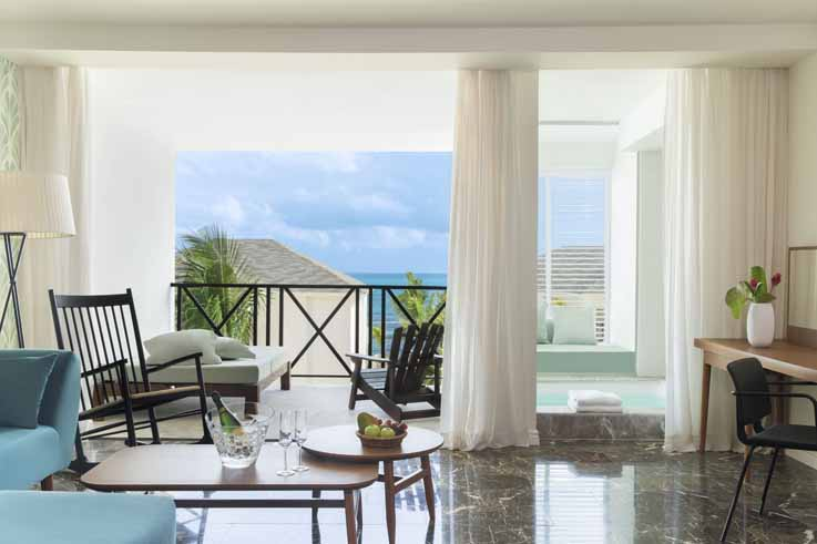 Image showcasing Excellence Club Junior Suite Partial Ocean View