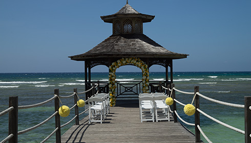 Showing slide 3 of 23 in image gallery, Gazebo Wedding
