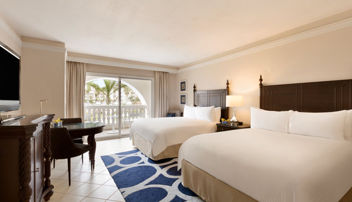 Showing slide 2 of 2 in image gallery showcasing Resort view room