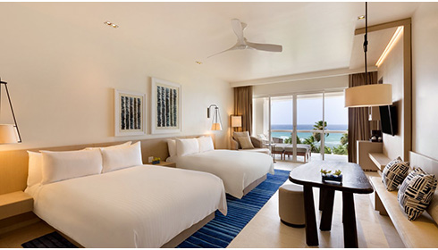 Showing slide 20 of 39 in image gallery, Ocean View Junior Suite Double