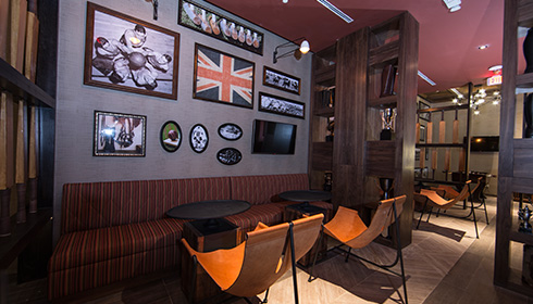 Union Jackz Private Lounge Area