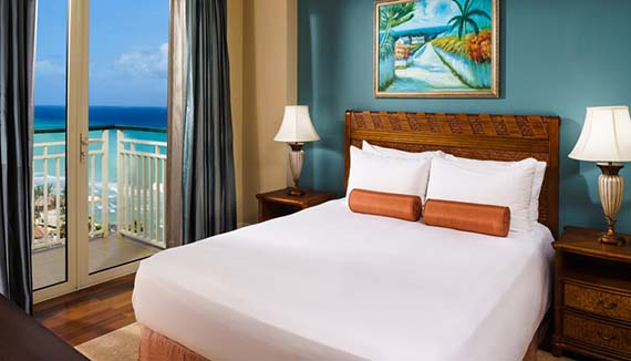 Showing slide 2 of 2 in image gallery, Ocean Front Junior Suite double