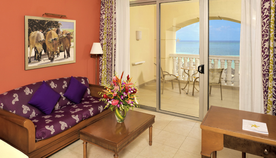 Showing slide 2 of 2 in image gallery showcasing Junior Suite Ocean View Superior