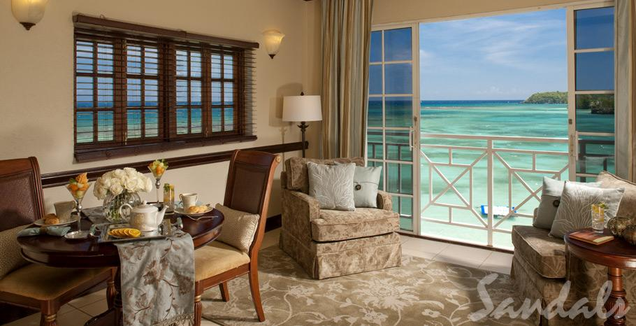 Image showcasing Royal Monarch Oceanfront Butler Suite (LR)