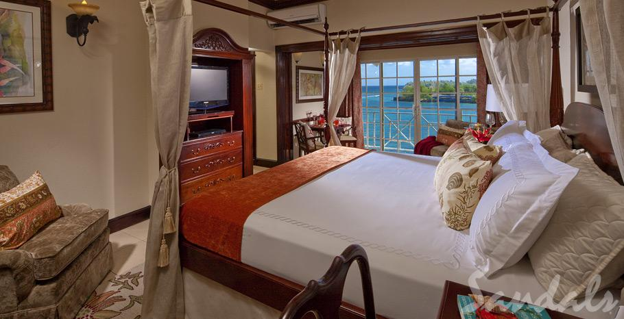 Image showcasing Viceroy Honeymoon Oceanfront Butler Suite (PRR)