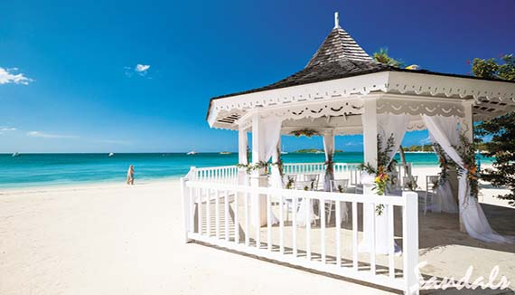 Wedding Showing Slide 10 Of In Image Gallery For Sandals Negril Beach Resort And Spa