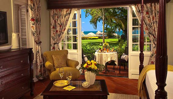 Image showcasing Honeymoon Beachfront Butler Suite (HS)