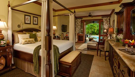 Image showcasing Swimup Crystal Lagoon Honeymoon One Bedroom Butler Suite (1B)