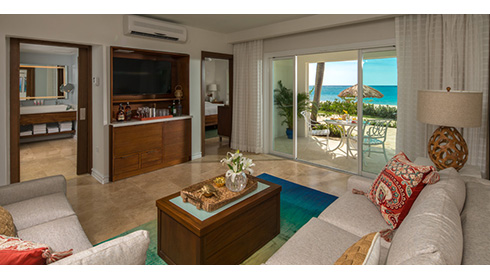Italian Beachfront one bedroom walkout butler suite (IW1)