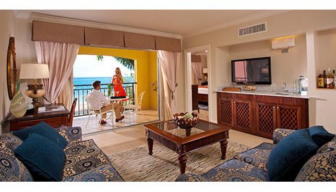 Suite d'une chambre Honeymoon Beachfront avec majordome - 1B