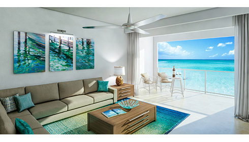 Italian Beachfront One Bedroom Butler Suite (IB1)