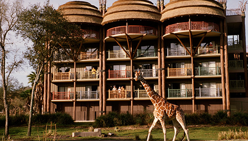 Image représentative de l'hôtel Disney's Animal Kingdom Lodge