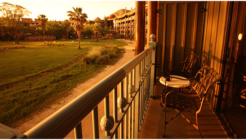 Showing slide 2 of 4 in image gallery, Savanna View - Balcony