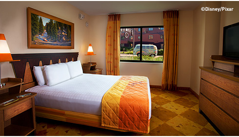 Cars Family Suite - Bedroom