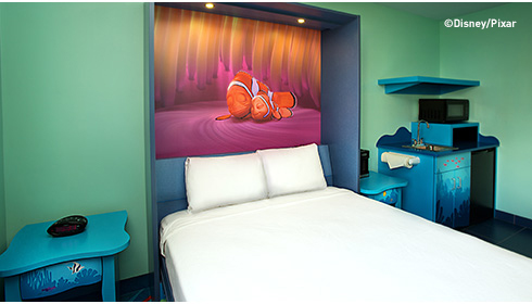 Finding Nemo Family Suite - Table Bed
