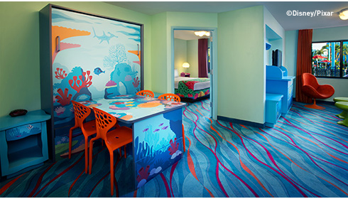 Showing slide 25 of 25 in image gallery, Finding Nemo Family Suite