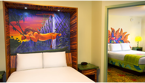 The Lion King Family Suite - Table Bed
