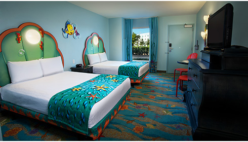 The Little Mermaid - Standard Room