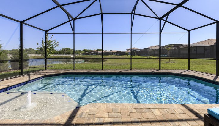 Showing slide 2 of 5 in image gallery, 3-Bedroom Home - Pool