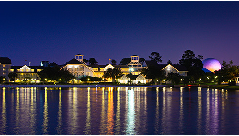 Showing Disney's Beach Club Resort feature image