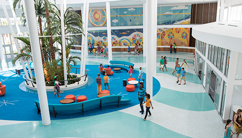 Showing slide 2 of 5 in image gallery for Universal's Cabana Bay Beach Resort