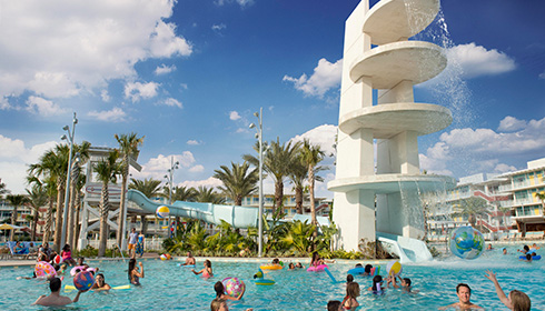 Showing slide 4 of 5 in image gallery for Universal's Cabana Bay Beach Resort