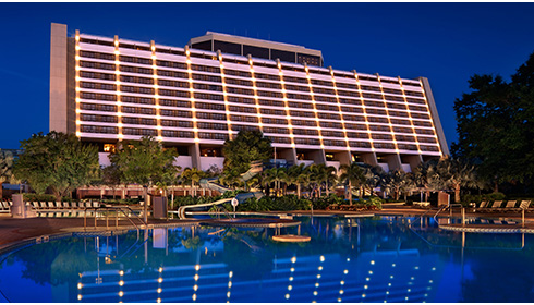 Showing Disney's Contemporary Resort feature image