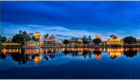 Showing Disney's Coronado Springs Resort feature image